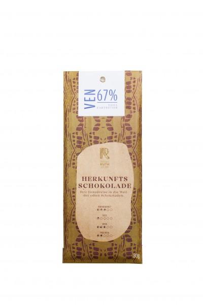 Herkunftsschokolade VEN 67%